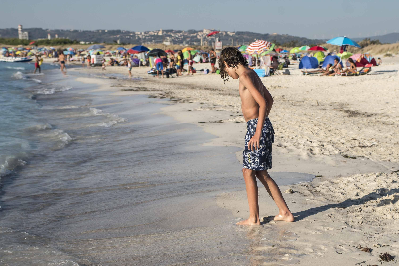 Spiaggia bianca di Solvay Reportage